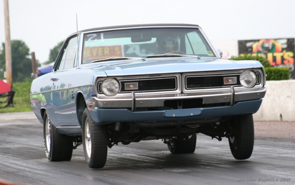 drag race dodge dart Mopar Magnum V8 powered
